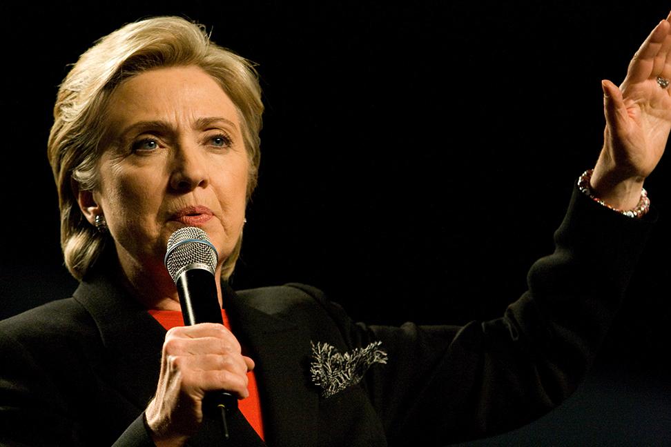 blokklánc technológia Hillary Clinton szerint felhasználható széles körben a privát és állami szférában