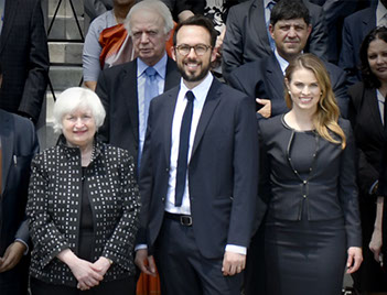 Janet Yellen és a Chamber of Digital Commerce képviselői a blokklánc és bitcoin tanulmányozásáról egyeztettek