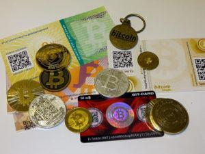 papíralapú bitcointárca
