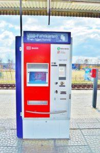 Bitcoin vonatjegy automatából