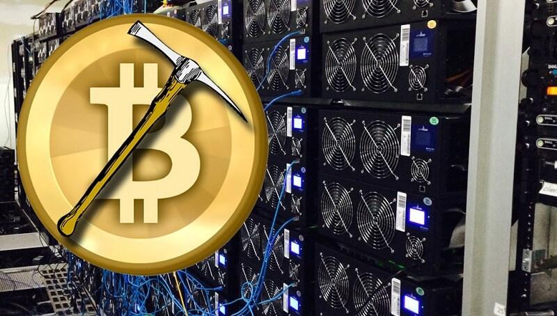 bitcoin hashráta