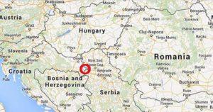 Liberland Horvátország és Szerbia között