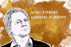 Assange mindig is támogatta a bitcoint