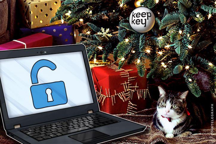 KeepKey karácsonyi hekker támadás