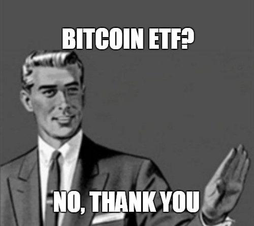 Egyelőre nem lesz bitcoin ETF