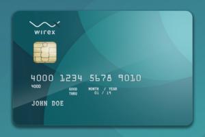 Wirex betéti bankkártya