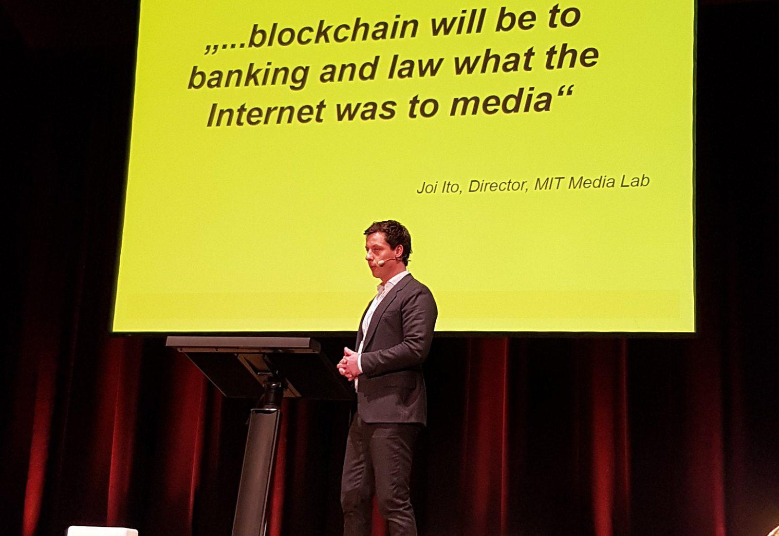 'A blokklánc olyan lesz a bankolásnak és a médiának, mint az internet volt a médiának.' – Joi Ito, MIT