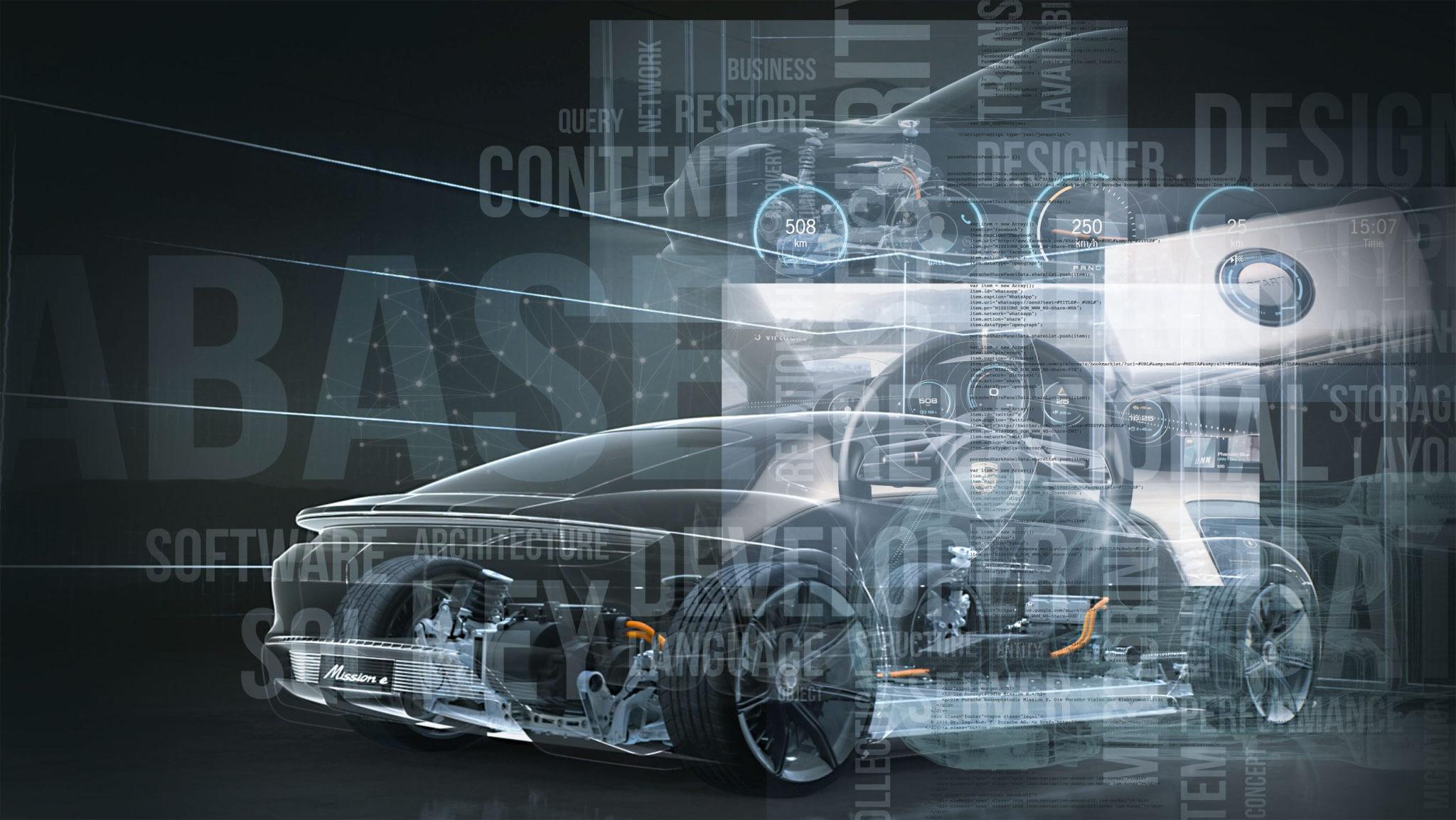 Itt a Porsche blokklánc versenye!