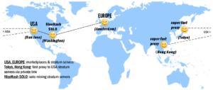 Nicehash világtérkép