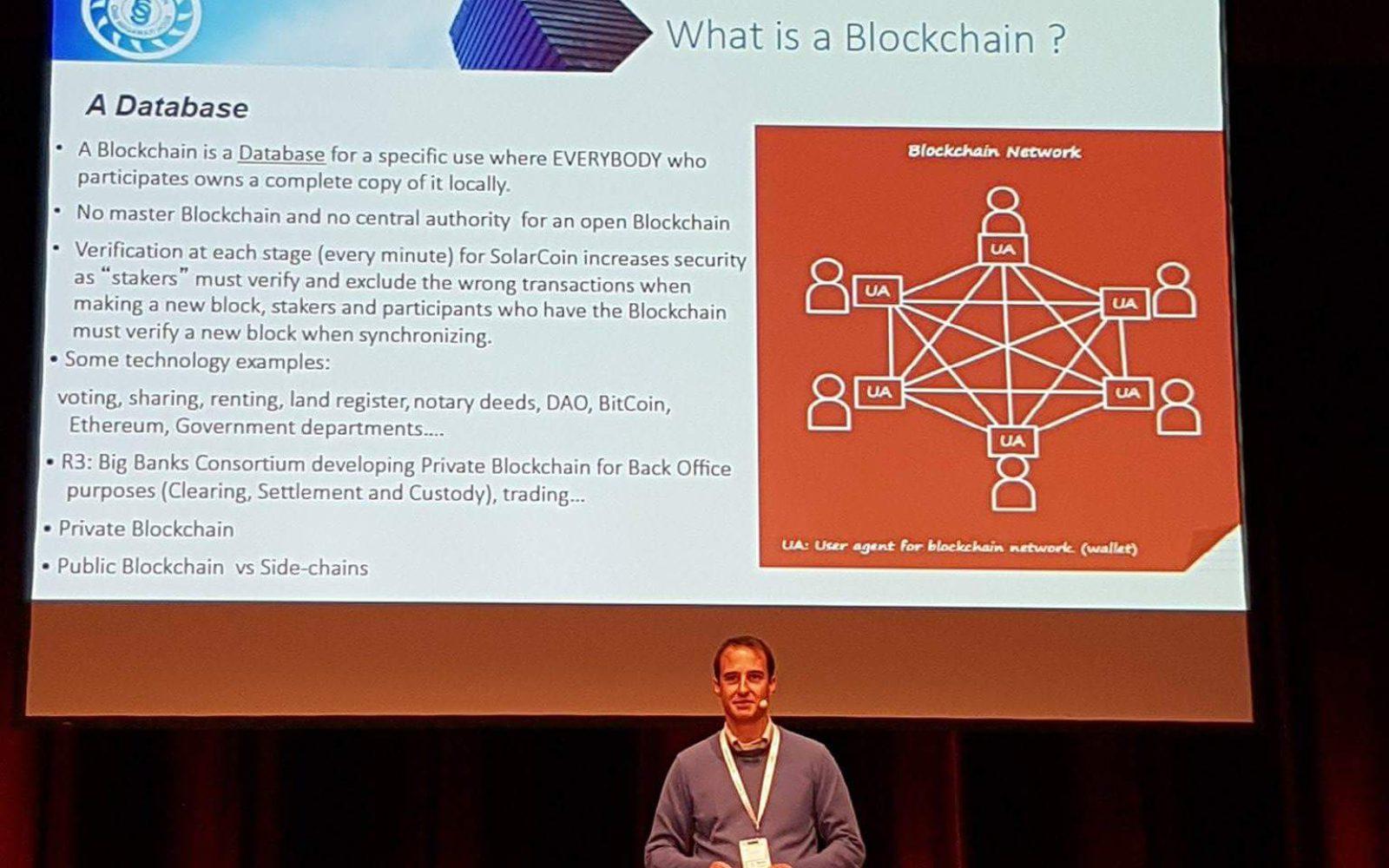 Francois Sonnet – SolarChange – megújulók és blokklánc