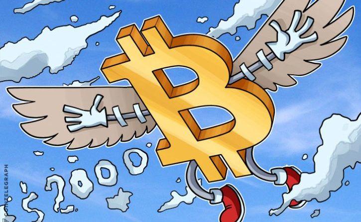 2000 felett a bitcoin árfolyam