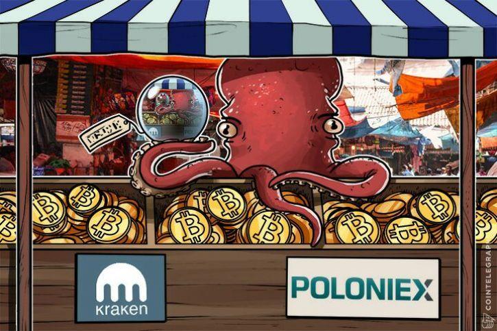 A Poloniex és Kraken tőzsdéket vádolják bennfentes kereskedés gyanújával