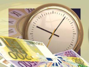 Az idő pénz - a gyorsabb átutalás többe kerül