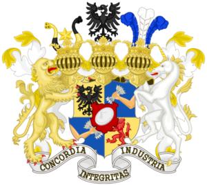 Rothschild családi címer