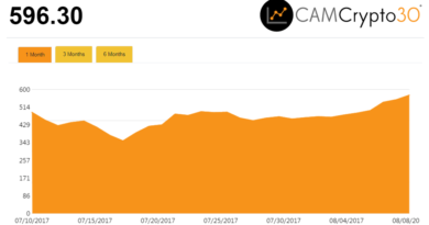 CAMCrypto 30 kriptopénz index
