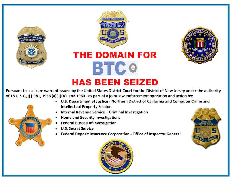 Lefoglalta a szövetségi nyomozóhivatal a BTC-e honlapját
