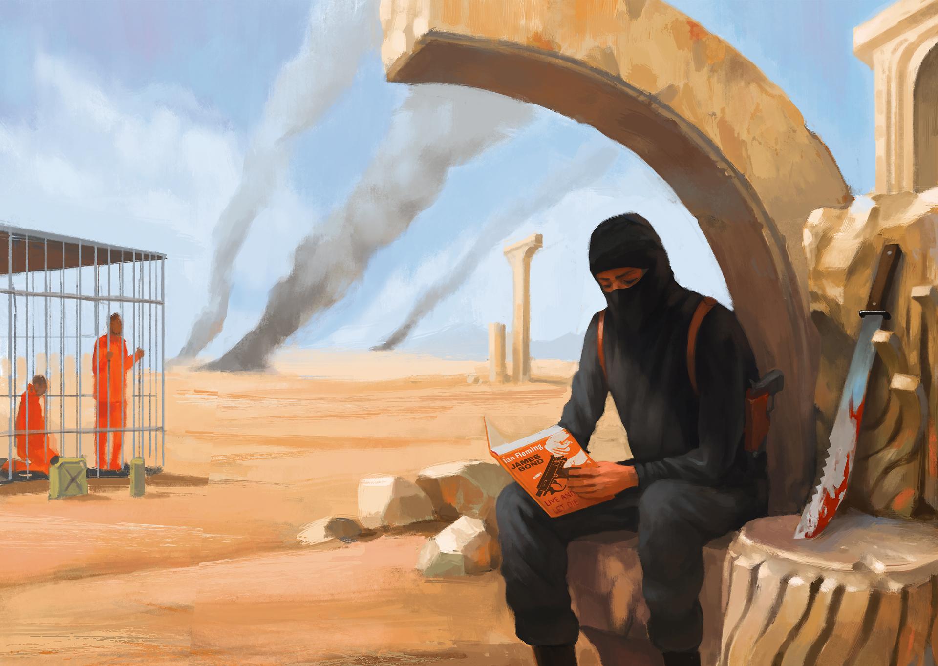 bitcoin és terrorizmus - csepp a tengerben az olajdollármilliókhoz és más támogatásokhoz képest, amit az Iszlám Állam kap évente