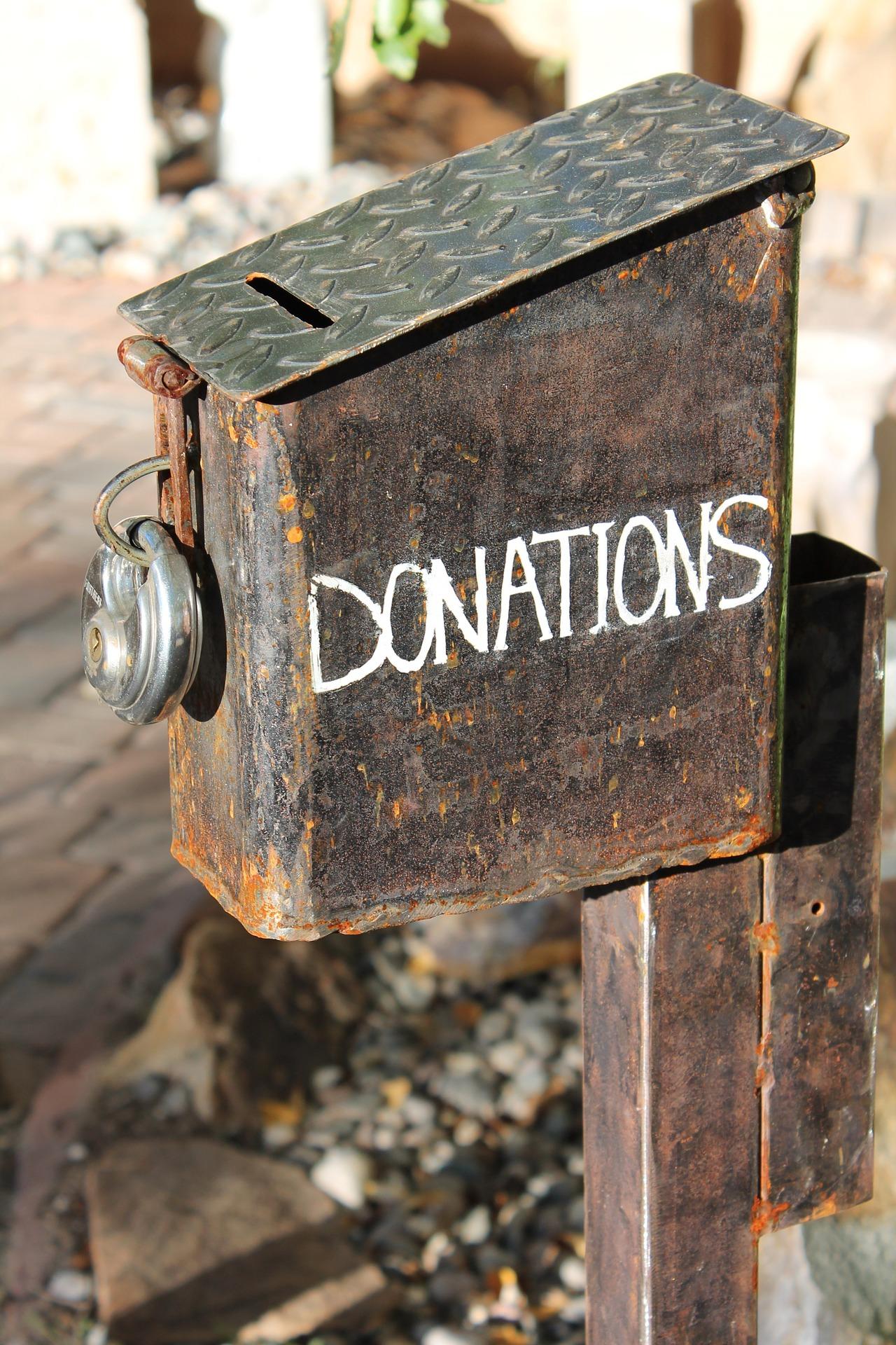 Sokszor adományoz a kriptoközösség