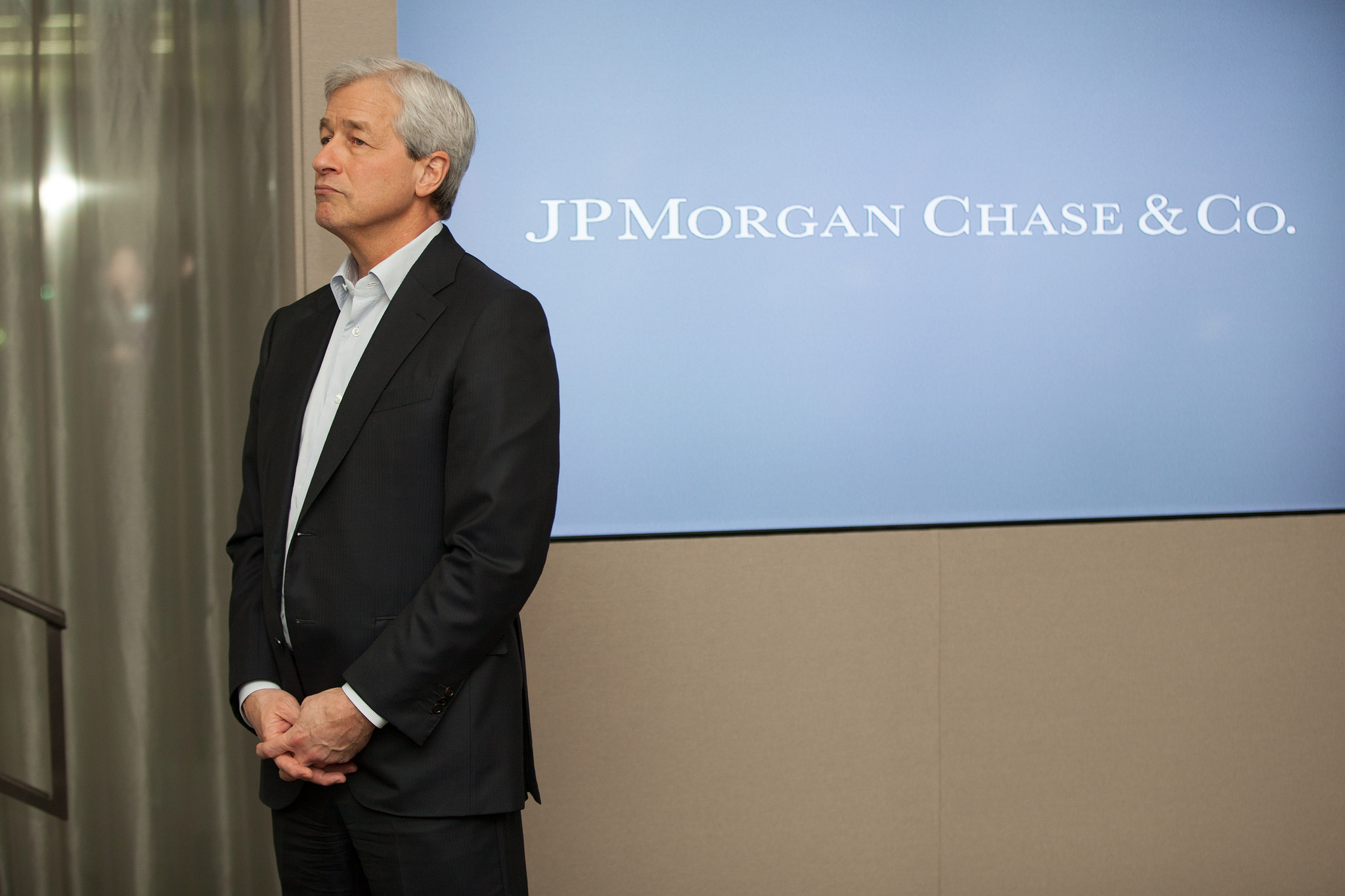 Jamie Dimon a JP Morgantől