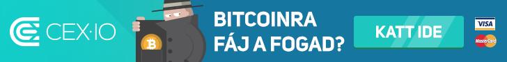 CEX.IO - Bitcoin, Ether, Litecoin, ZCash vásárlás olcsón és gyorsan