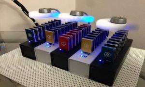 USB bitcoin bányász farm