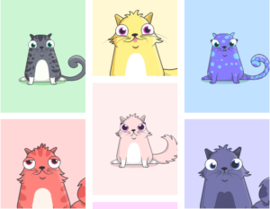 Crypto Kitties őrület