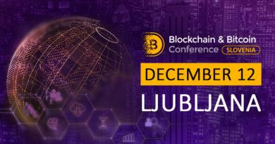 Szlovén blokklánc startupok és befektetők a Blokklánc és Bitcoin Konferencián, Ljubljanában!