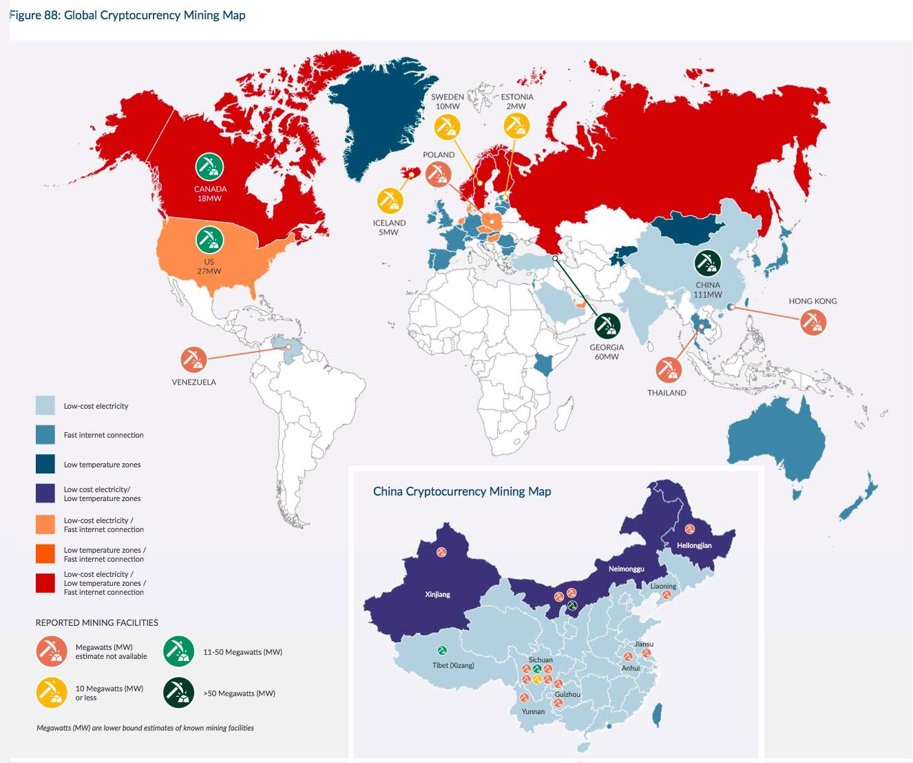 bitcoin arbitrázs térkép