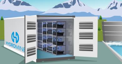 HydroMiner konténer