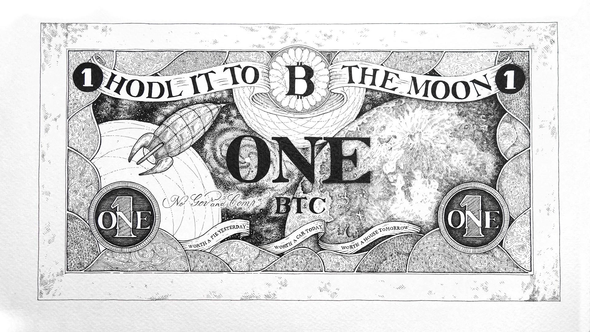 Bitcoin bankjegyek 1 bitcoin