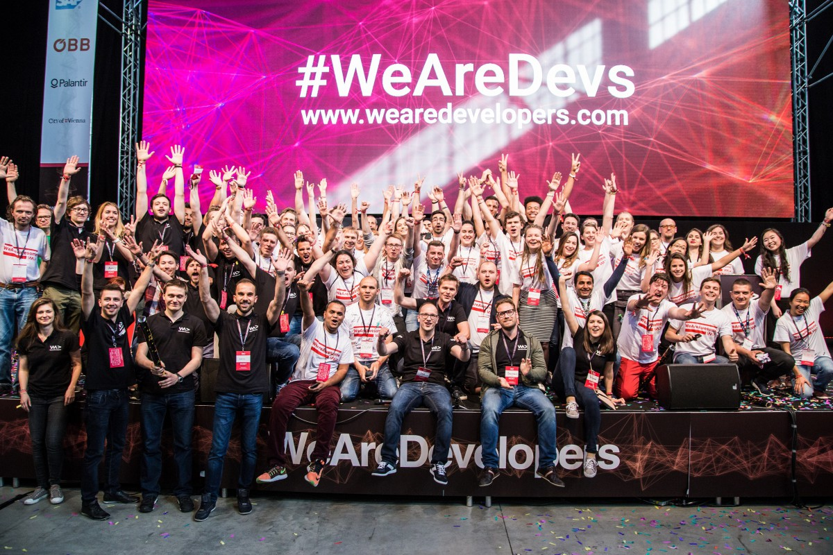 WeAreDevelopers csapat