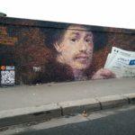 Bitcoinban gyűjt adományokat Pascal Boyart street artist