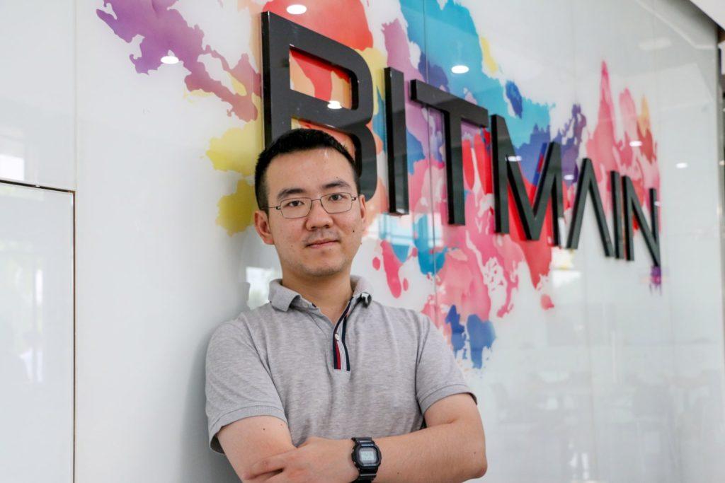 Bitmain birodalom vezetője, Jihan Wu
