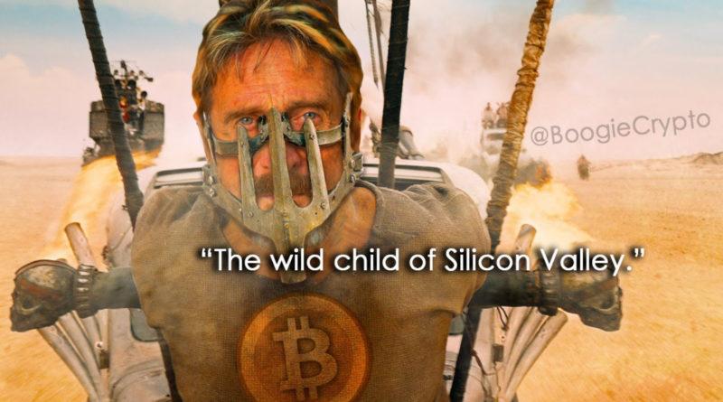 Tovább folytatódik a McAfee-komédia: már beszélt Satoshi Nakamoto bitcoin feltalálóval