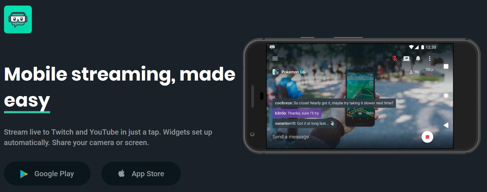 Twitch kompatibilis streaming segítő platform