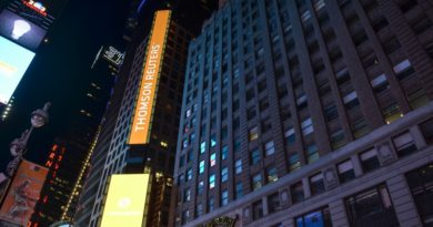 Thomson Reuters felirat Times Square