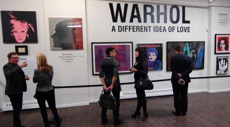 kriptopénz árverésen Andy Warhol képére lehet licitálni
