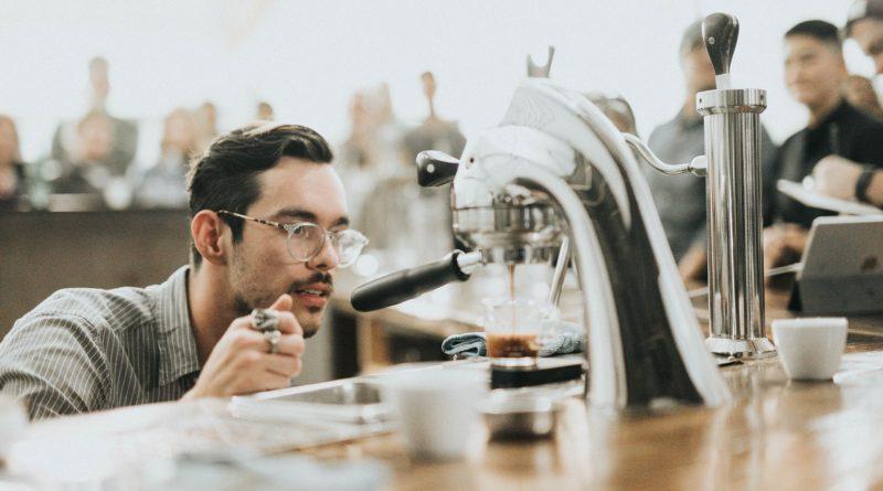 Bitcoinnal működő kávégép