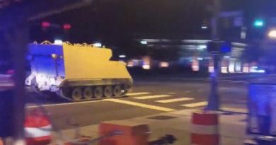 Zcash társalapítója egy lopott harci járművel furikázta át az éjszakát