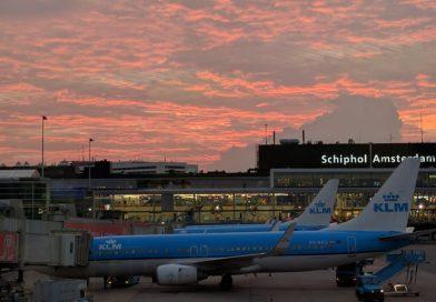 Új kriptopénz automata az amszterdami Schiphol reptéren