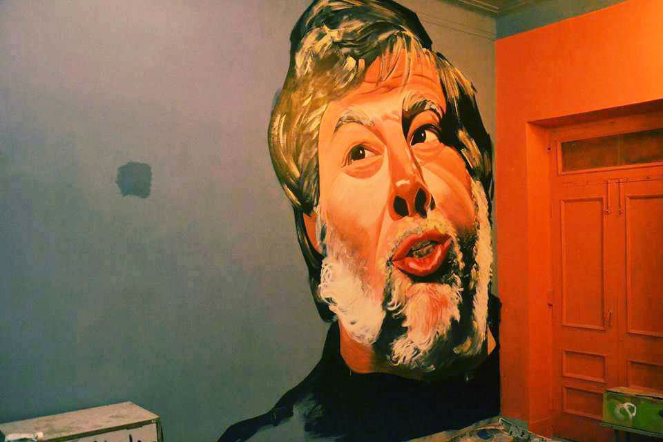 Steve Wozniak falfestmény