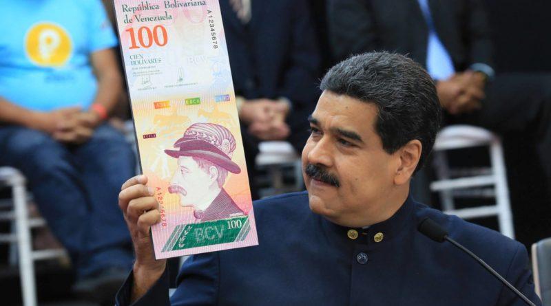Lecserélésre kerül Venezuela nemzeti fizetőeszköze, a bolivár, és új valutát a sok sebből vérző tokenhez, a petróhoz rögzíti.