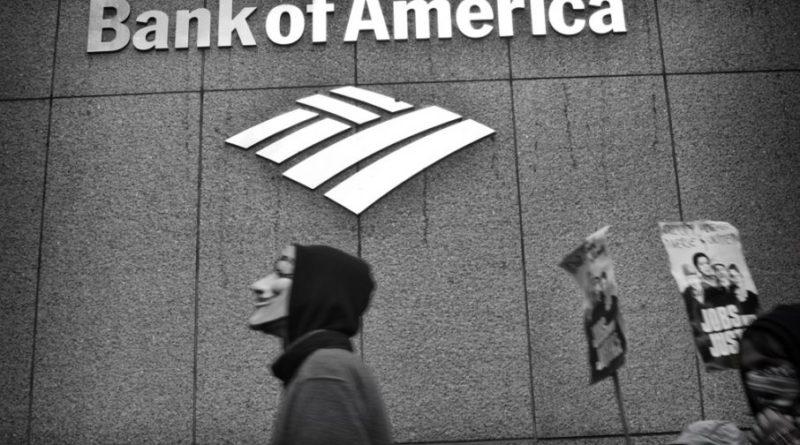 kamatráta | Bank of America, névtelen, fekete fehér, logó