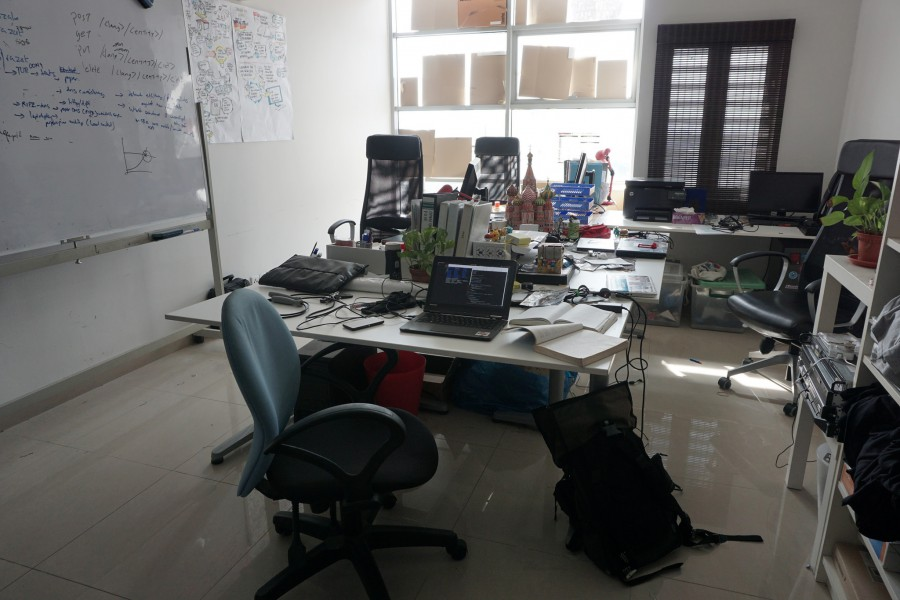Üresek a KuCoin hong kongi irodái