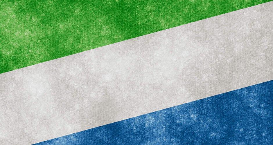 blokklánc-alapú személyazonosítás Sierra Leonéban