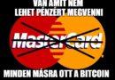 A Mastercard le akarja védetni egy részlegesen fedezett kriptovalutabank ötletét