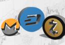 Dash (DASH), Zcash (ZEC) és Monero (XMR) – technikai elemzés