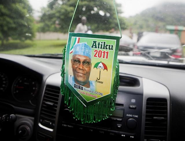 Atiku Abubakar nigériai választások