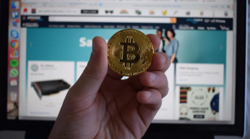 Amazon előtt bitcoin érme