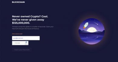 Blockchain.com 125 millió dollár értékű Stellar airdropot jelentett be